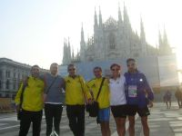Foto degli atleti sanseveresi presenti alla Milano City Marathon 2006