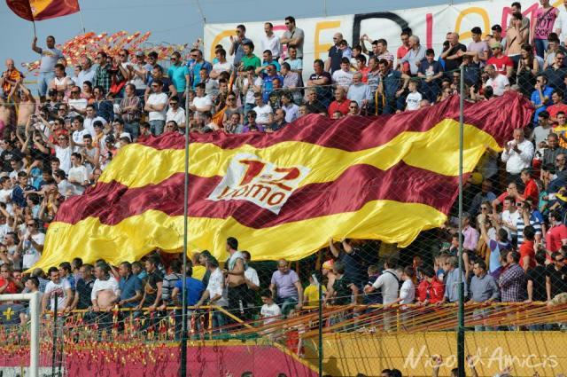 U.S.D. San Severo - Atletico Mola, 2012/13, la curva promozione (Foto di Nico D'Amicis).