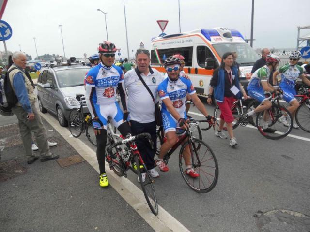 Inghese, Cursio e Ciociola al campionato nazionale di ciclismo